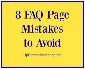 FAQ Page Mistakes