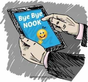 Bye Bye Nook
