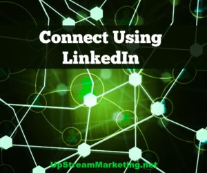 Connect using LinkedIn
