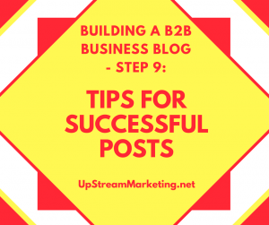 Tips for Successful Posts