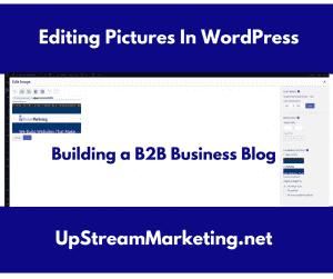 Edit Pictures in WordPress