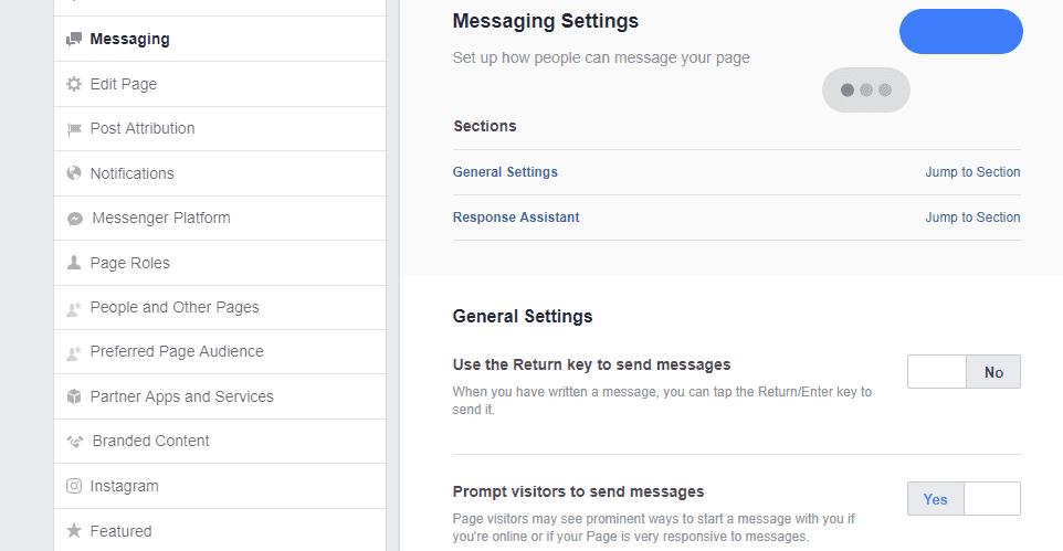 Automatic Facebook Messenges