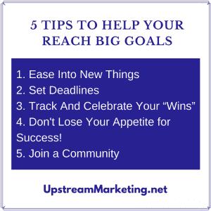 Goals - 5 Tips