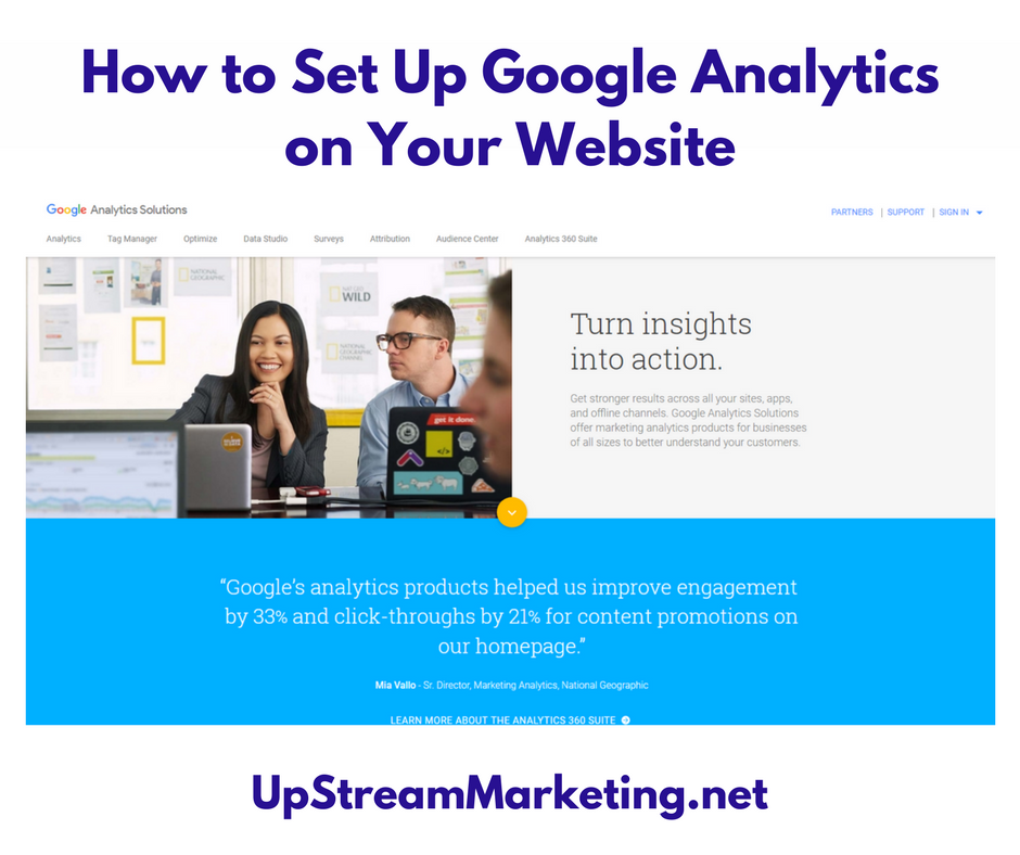 How to Set Up Google Analytics