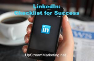 LinkedIn: Checklist for success