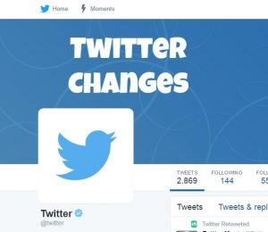 Twitter Changes
