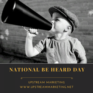 Be Heard Day