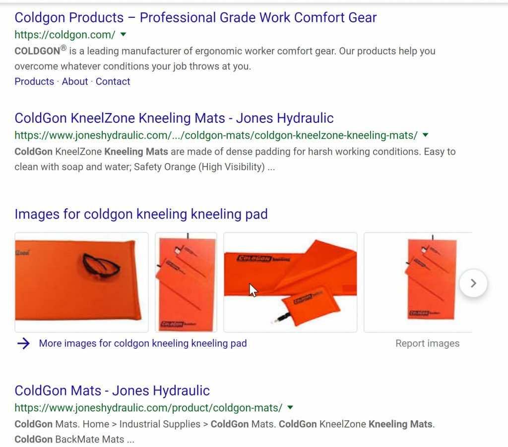 ColdGan Mats SEO Google