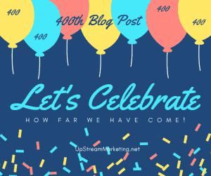 400th Blog Post