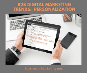 Digital Trends - Personalization