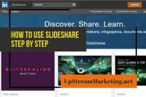 How to use slideshare step by step instructions