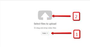 Upload Youtube