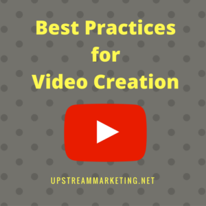 YouTube best practices for video creation